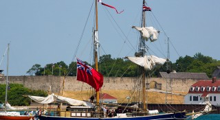 War of 1812 Naval Re-Enactment