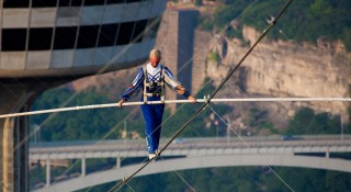 Jay Cochrane First Skywalk