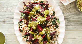 Grapefruit Beets and Beans