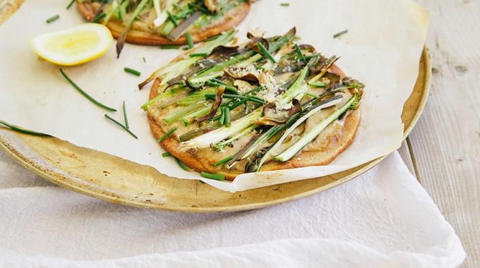Spring Vegetable Pizza