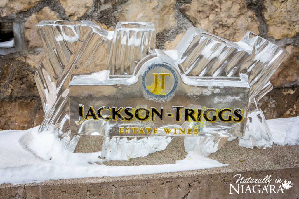 Jackson-Triggs Ice Sculpture