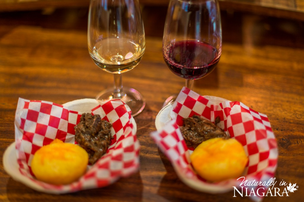Pulled Beef and Corn Bread with Riesling